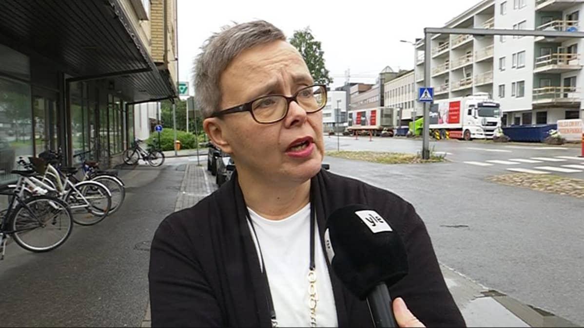 Palvelujohtaja Kaija Kukkola Lapin TE-toimistosta