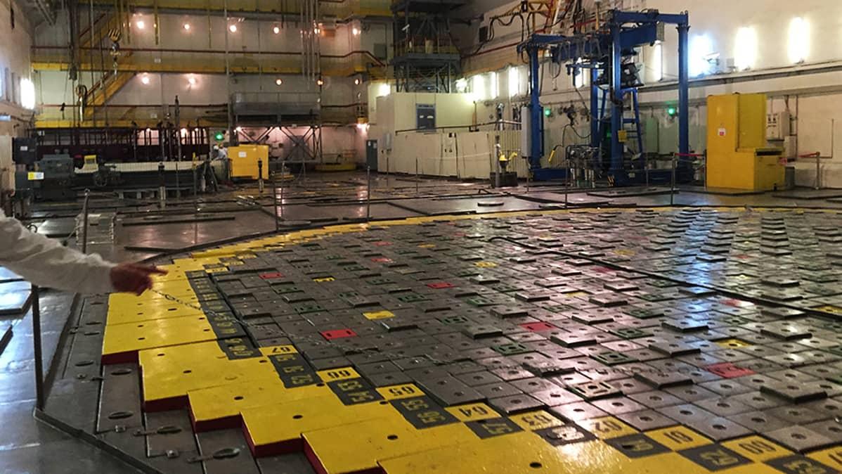 RBMK-reaktorihalli