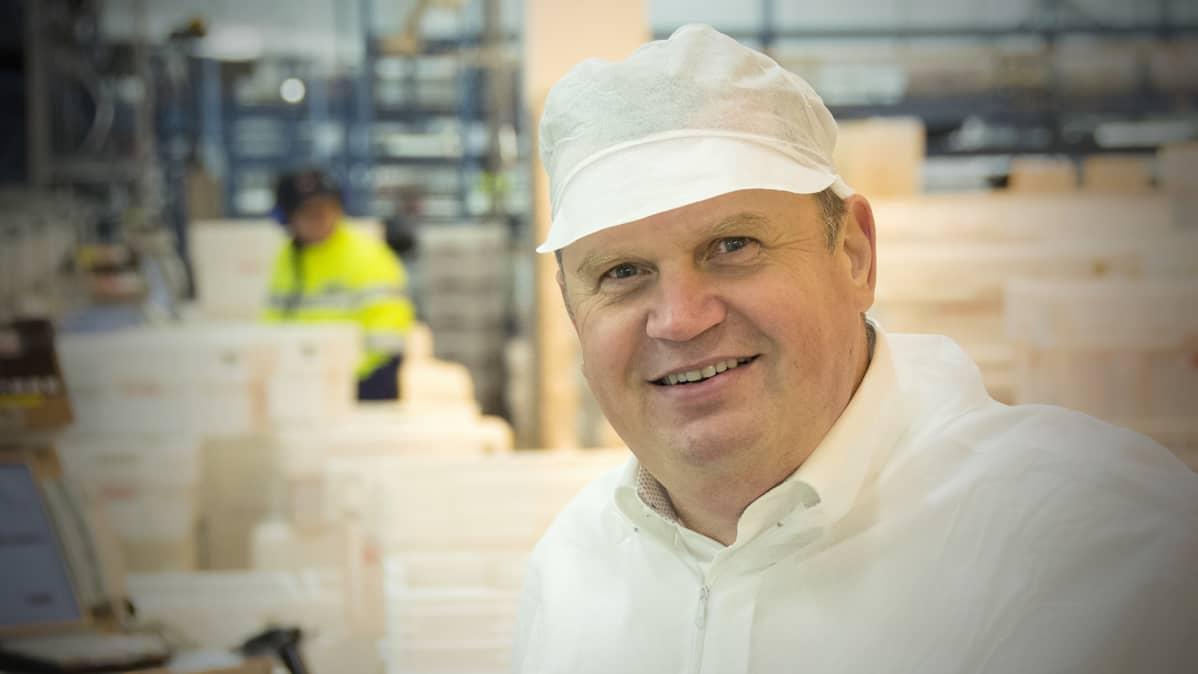 Poutun toimitusjohtaja Mikko Karell.
