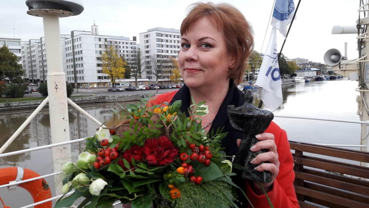 Tanja Raunio on vuoden 2017 positiivisin turkulainen.