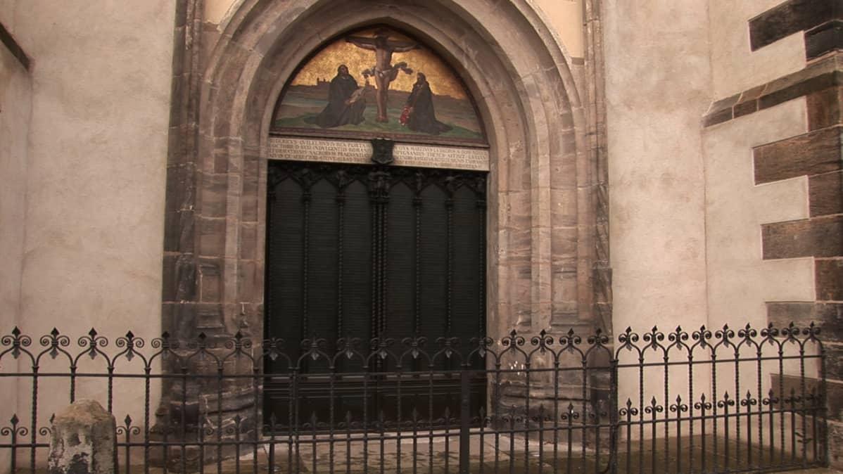 Wittenbergin linnankirkon ovi