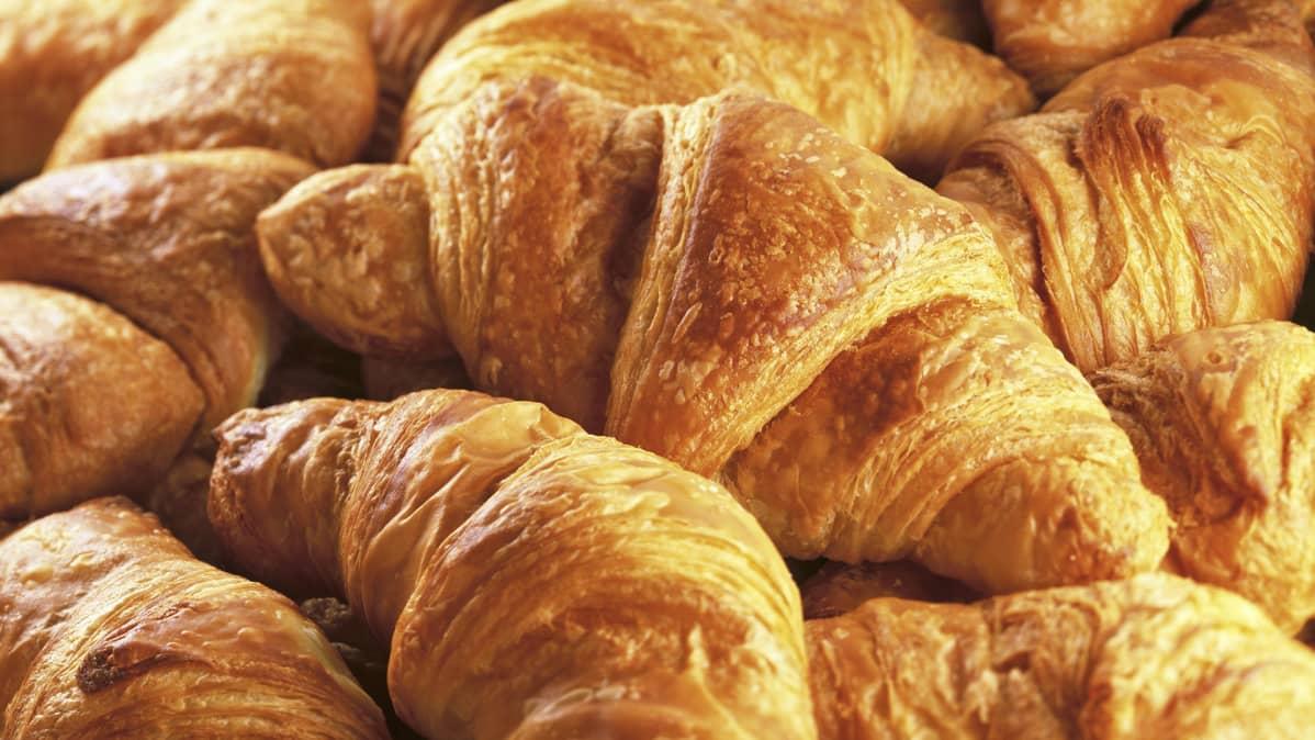Croissanteja.