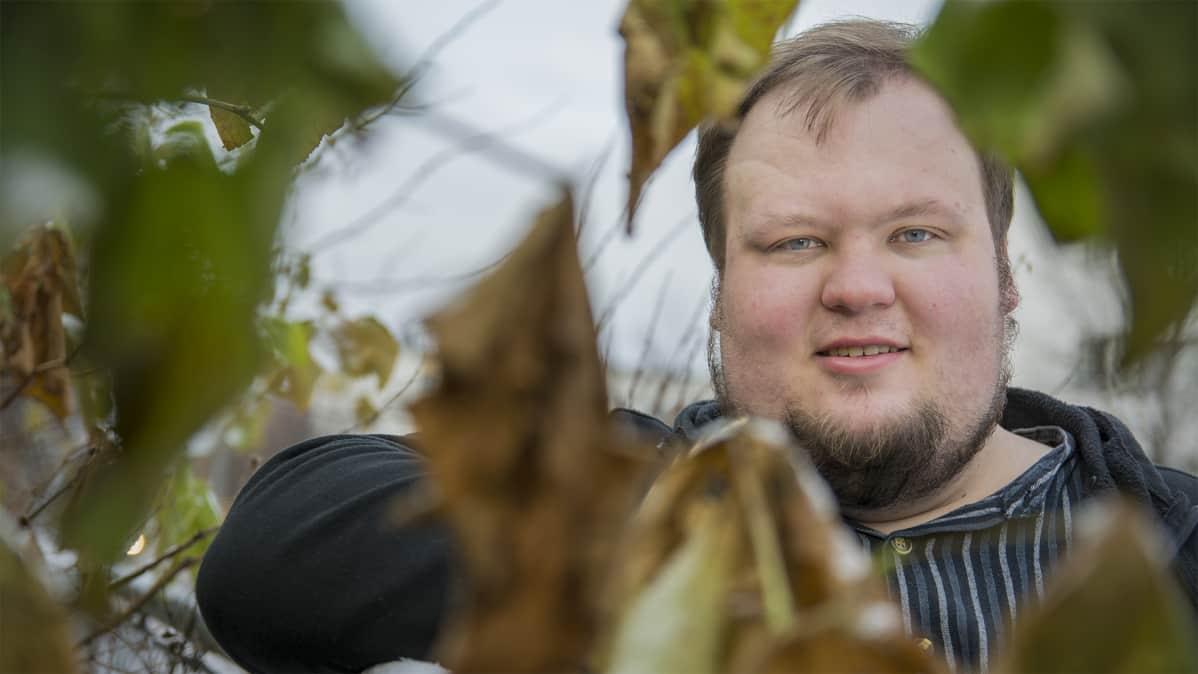 Kajaanin kaupunginvaltuuston puheenjohtaja Miikka Kortelainen.
