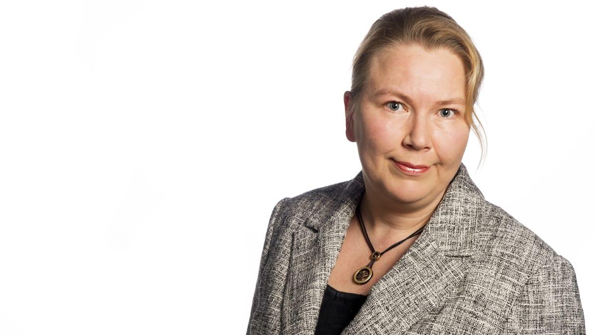 Yleisradion strategiapäällikkö Tuija Aalto