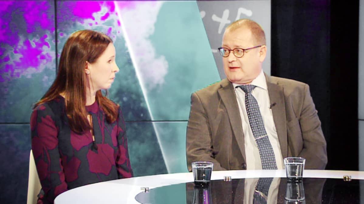 Marika Toivola ja Jorma Kauppinen