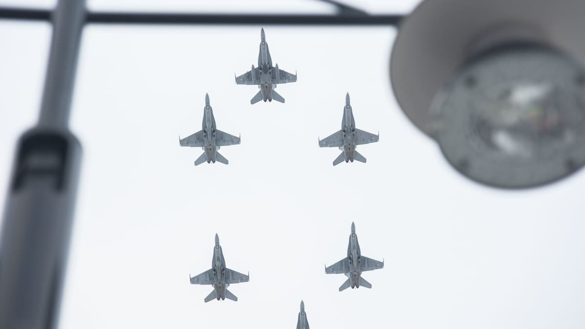 Hornetit ylilento.