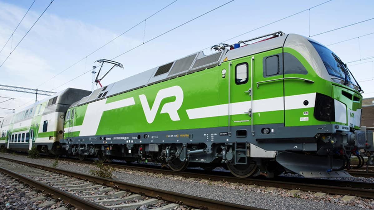 Vectron-veturi matkustajaliikenteessä.