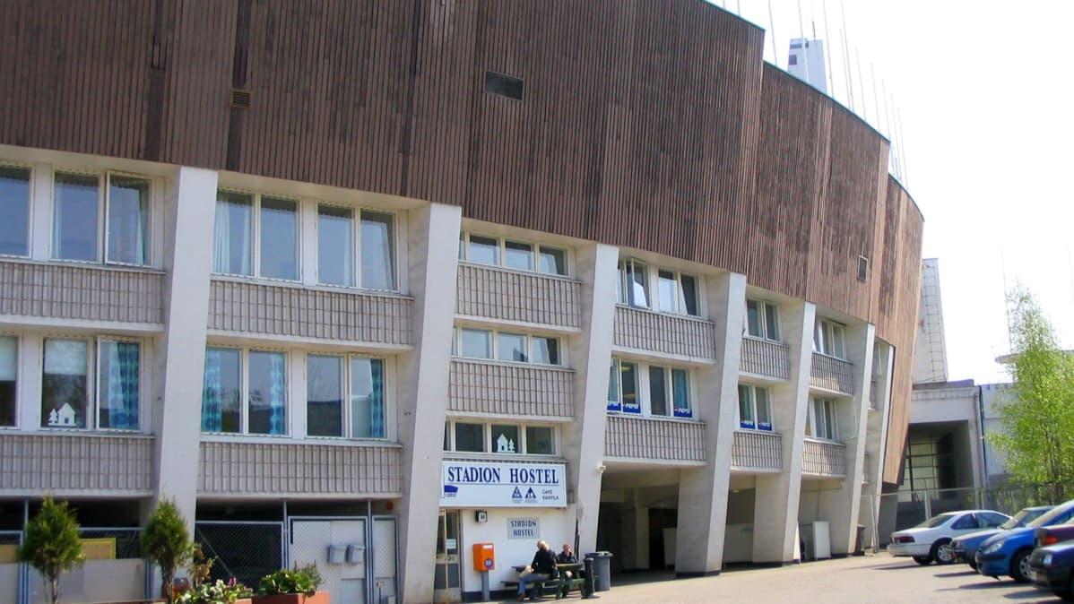 Stadionin hostelli toimi vuosina 1962-2015.