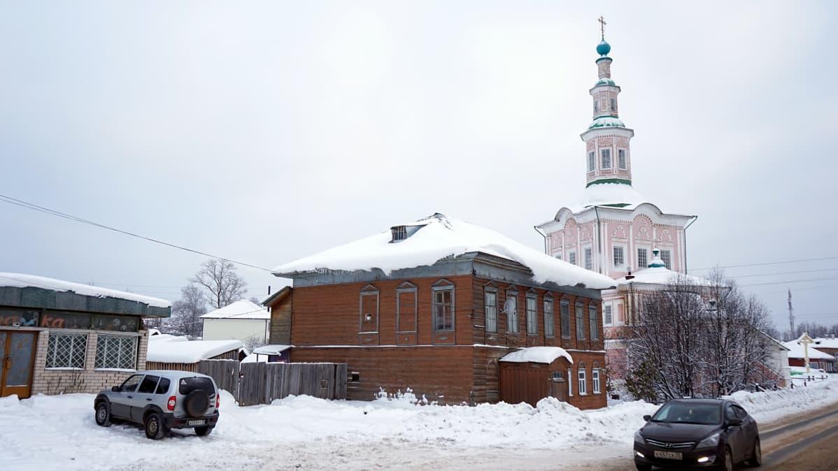 venäläinen kylä