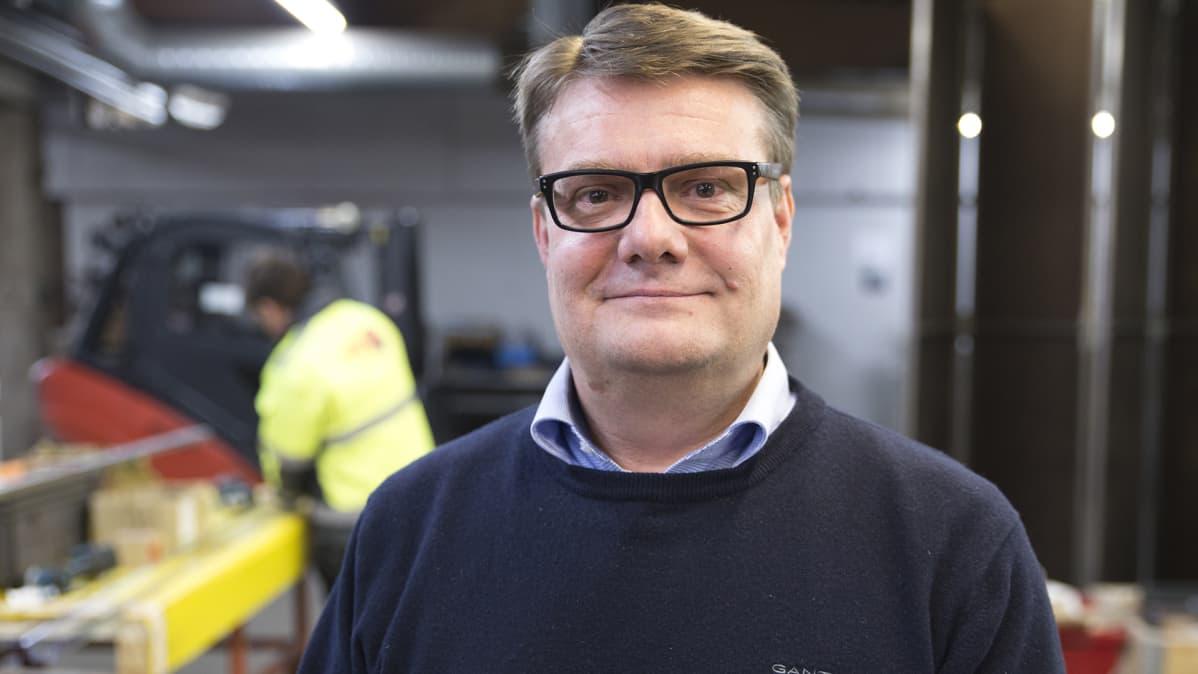 Vepe Oy:n toimitusjohtaja Antti Terkomaa