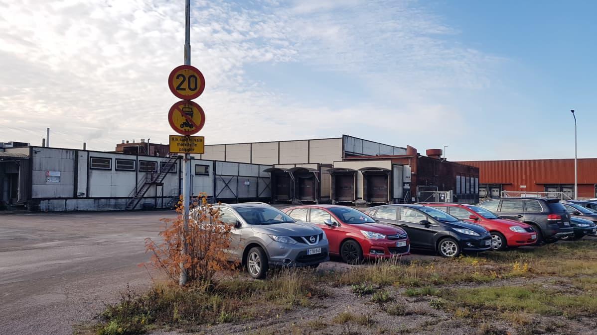 Lantmännenin Kotkan tehdas