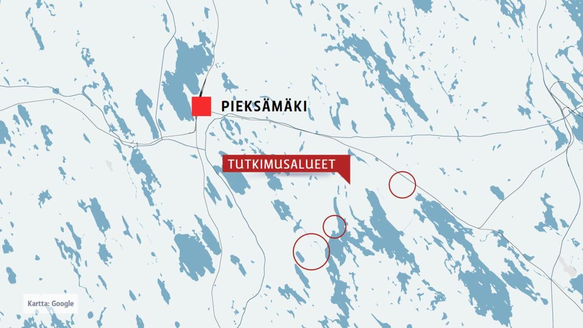 Malminetsintayhtio Haluaa Etsia Kuparia Pieksamaelta Yle Uutiset