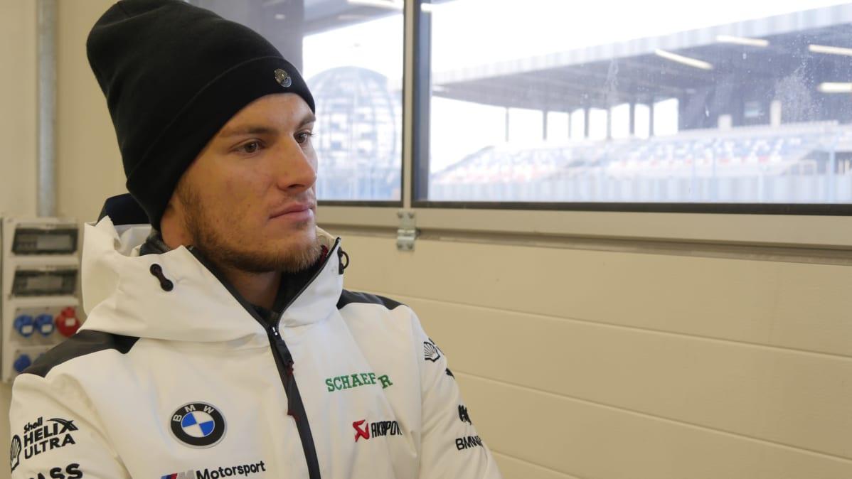 Saksalainen DTM kisakuljettaja Marco Wittmann