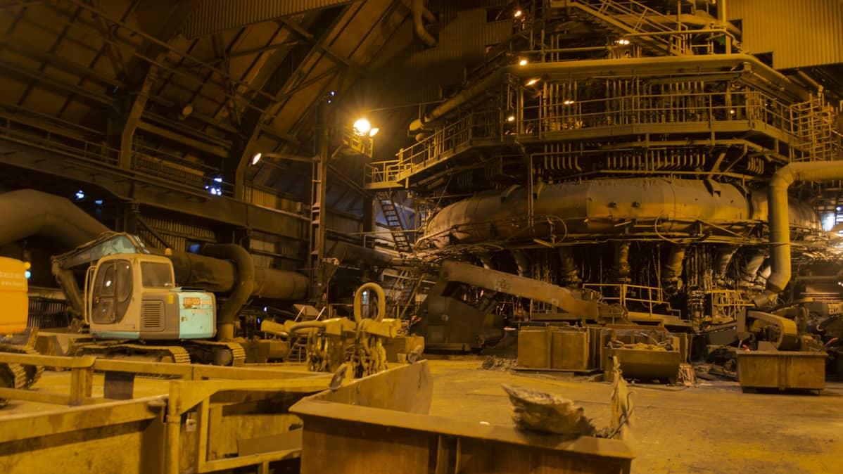 SSAB:n Raahen tehtaan masuuni2