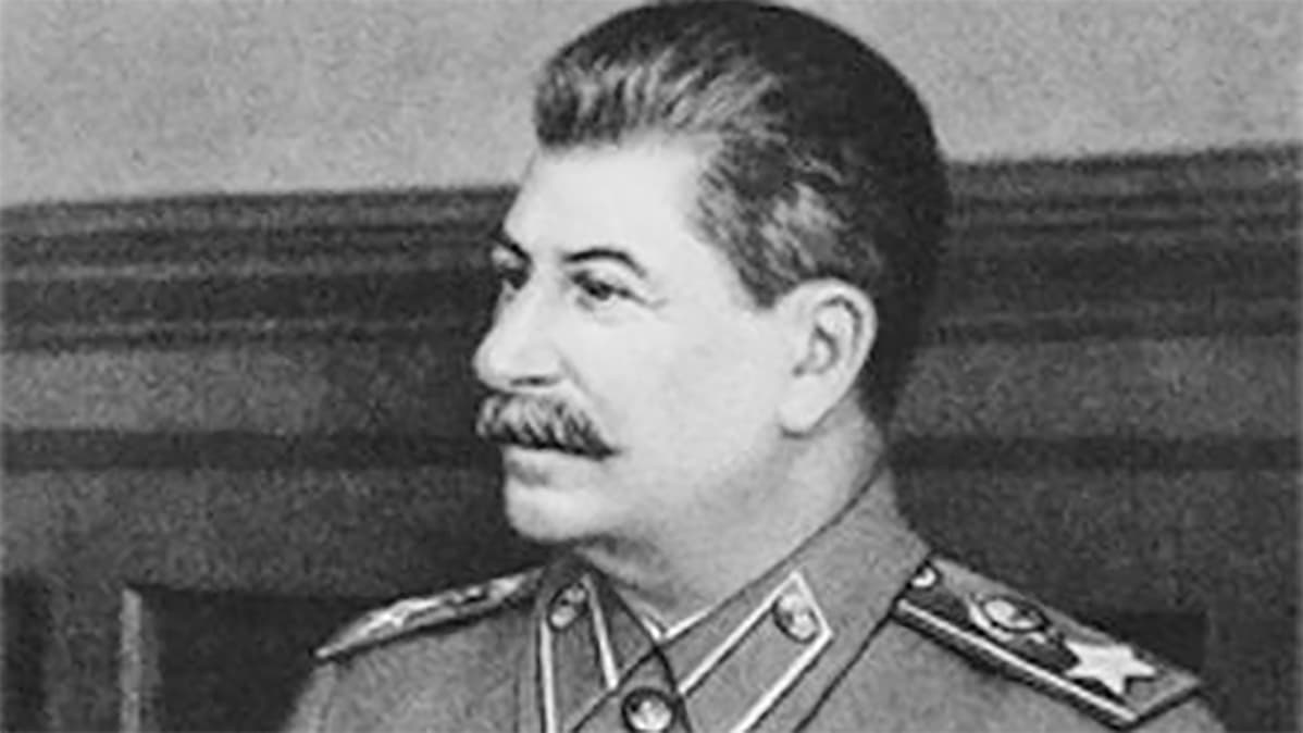 Josif Stalin vuonna 1940.