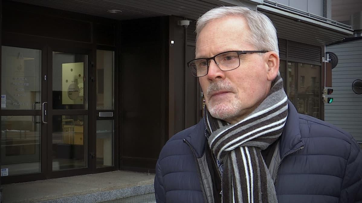 Ilkan pääluottamusmies Markku Kulmala