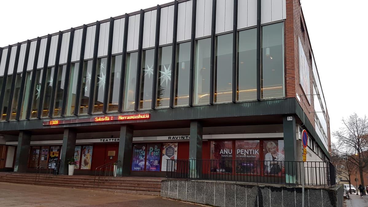 Kouvolan teatteri ulkoa