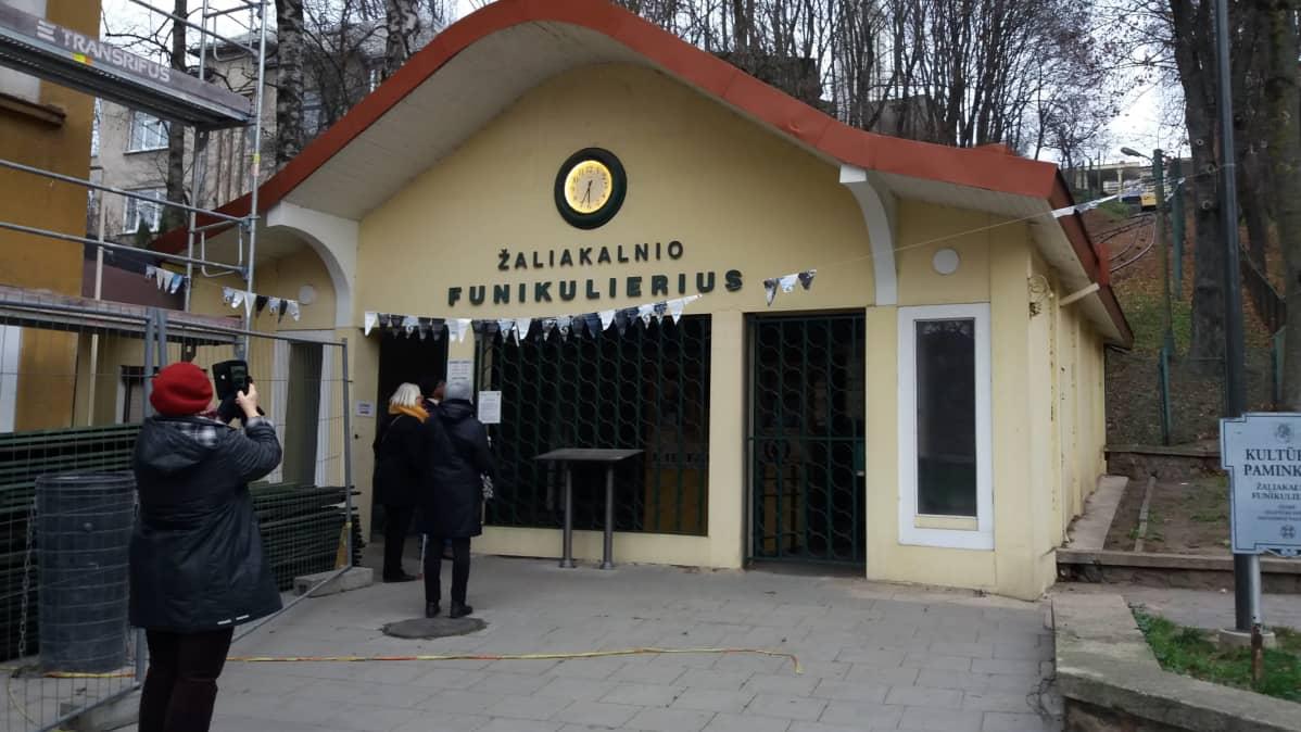 Funikulaari Kaunasissa