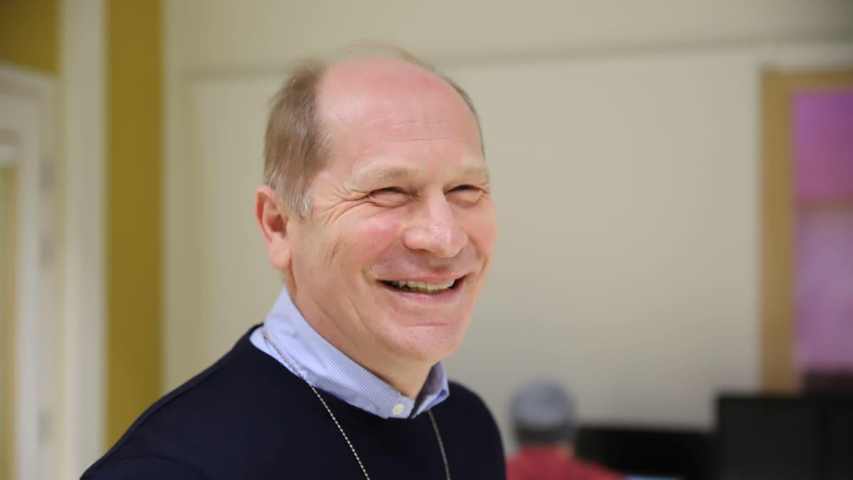 Yliopettaja Matti Welin Lahden ammattikorkeakoulusta