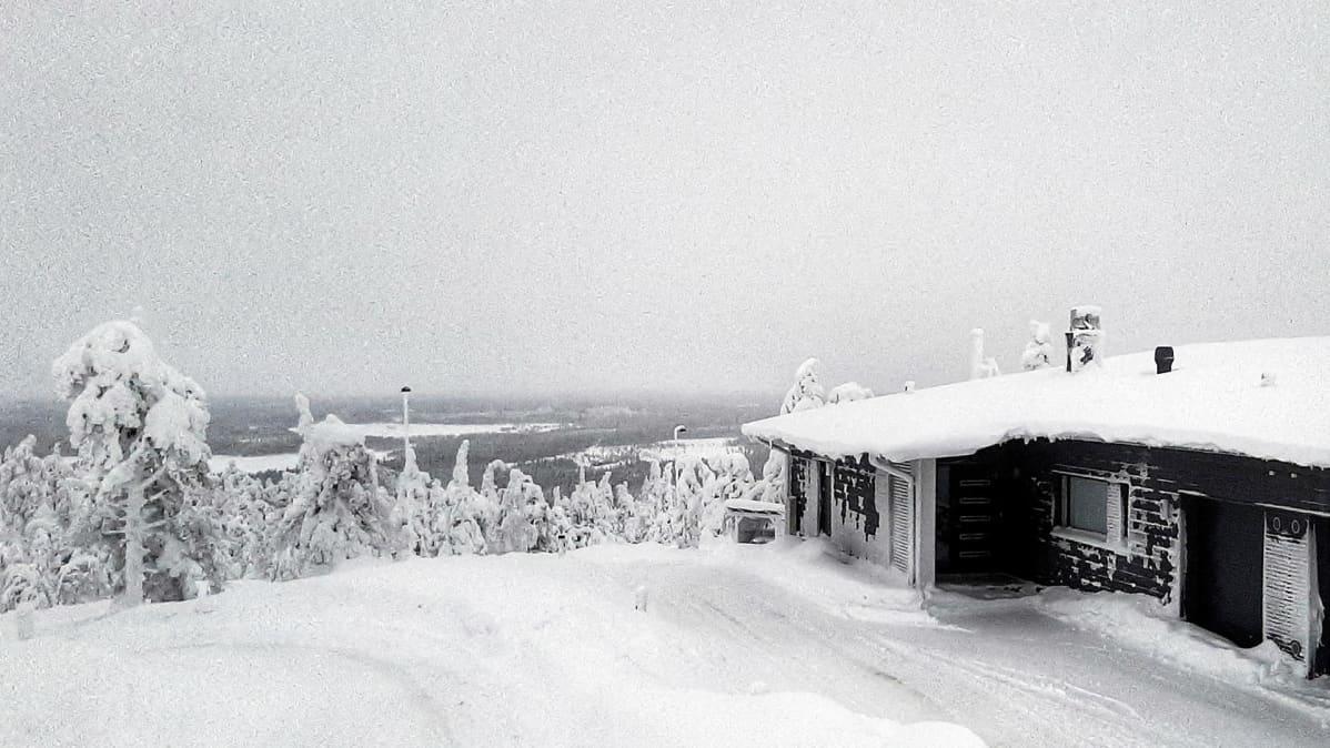 Vuokramökki Kuusamossa