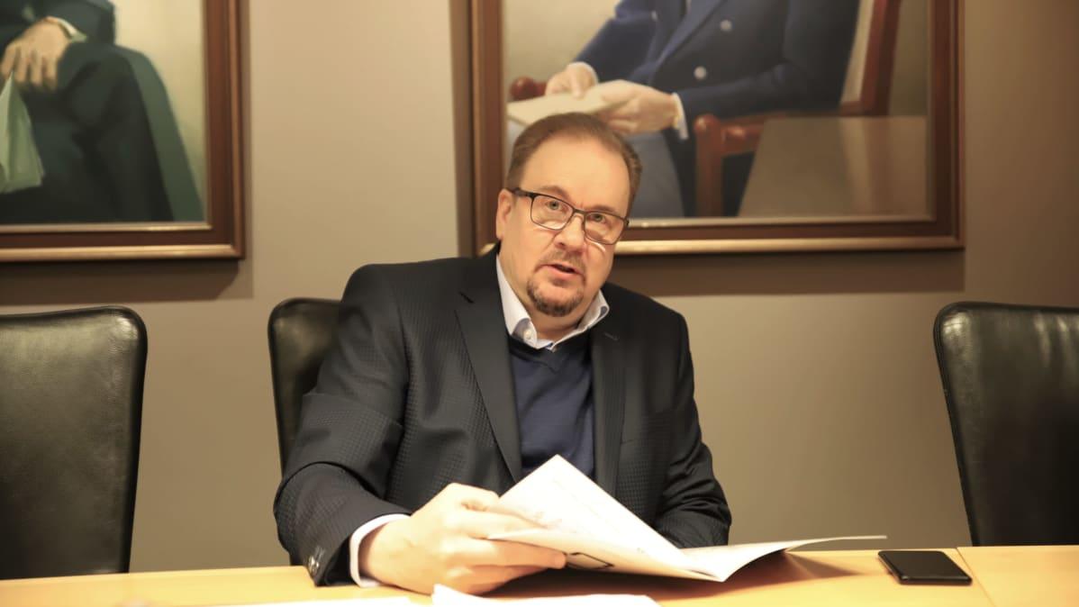 Iskun toimitusjohtaja Arto Tiitinen