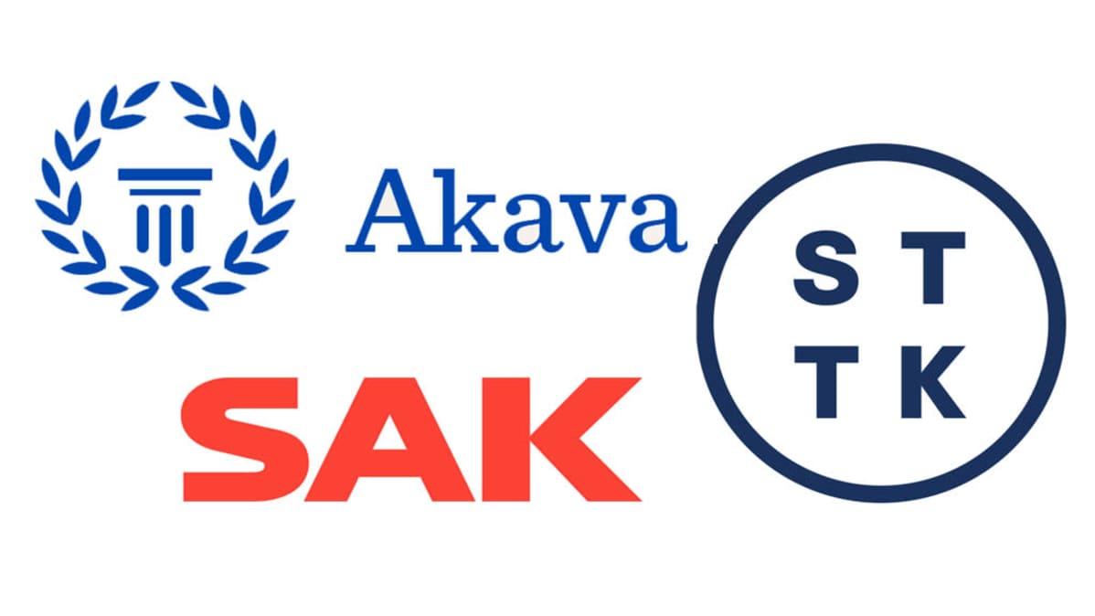 Keskusliittojen logoja