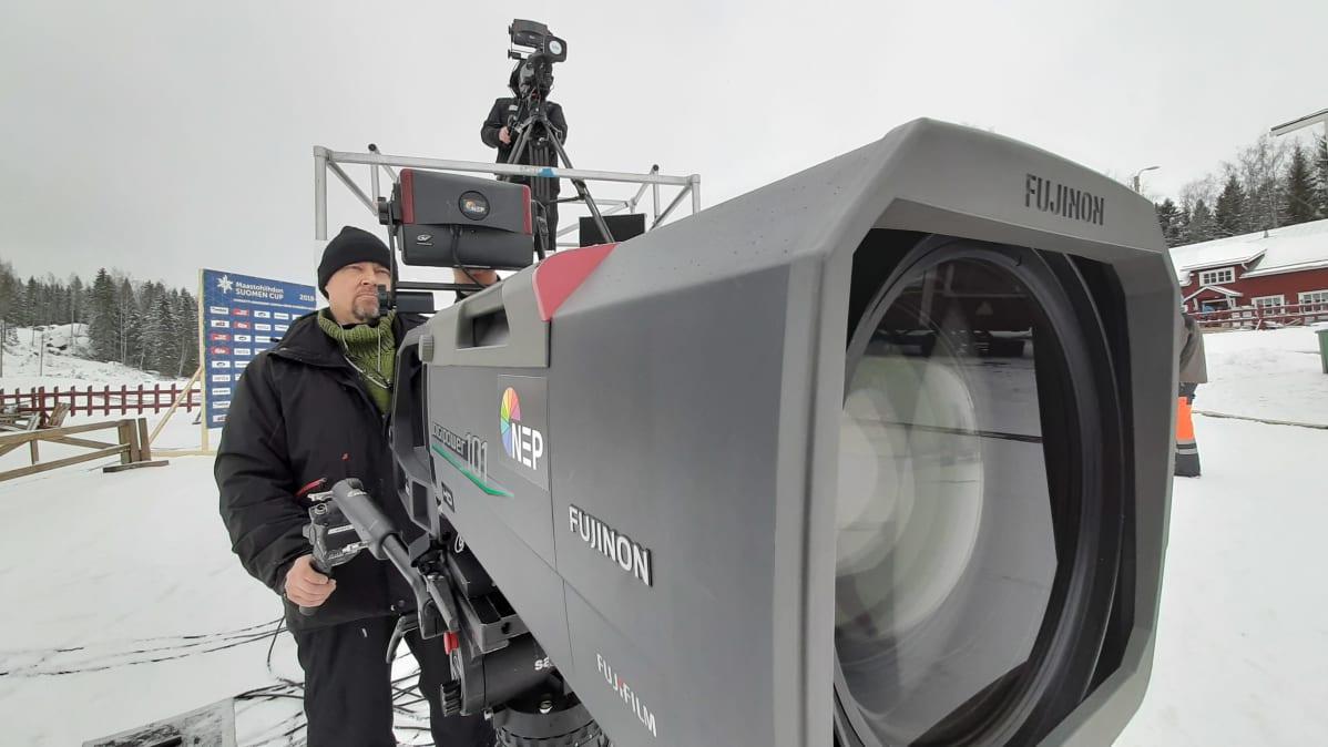 Vöyrin SM-hiihtoja televisioidaan yhteensä 17 kameralla.