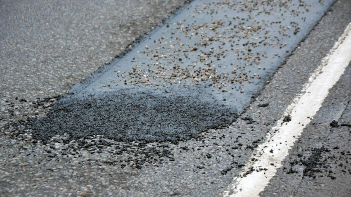 asfalttitien paikka