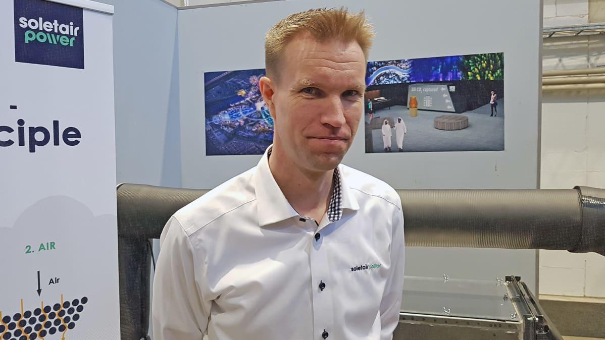 Soletair Powerin toimitusjohtaja Petri Laakso