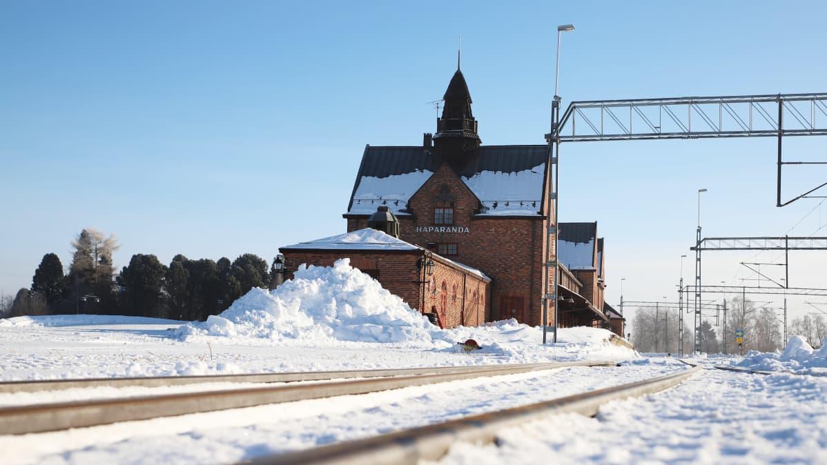 Haaparannan juna-asema
