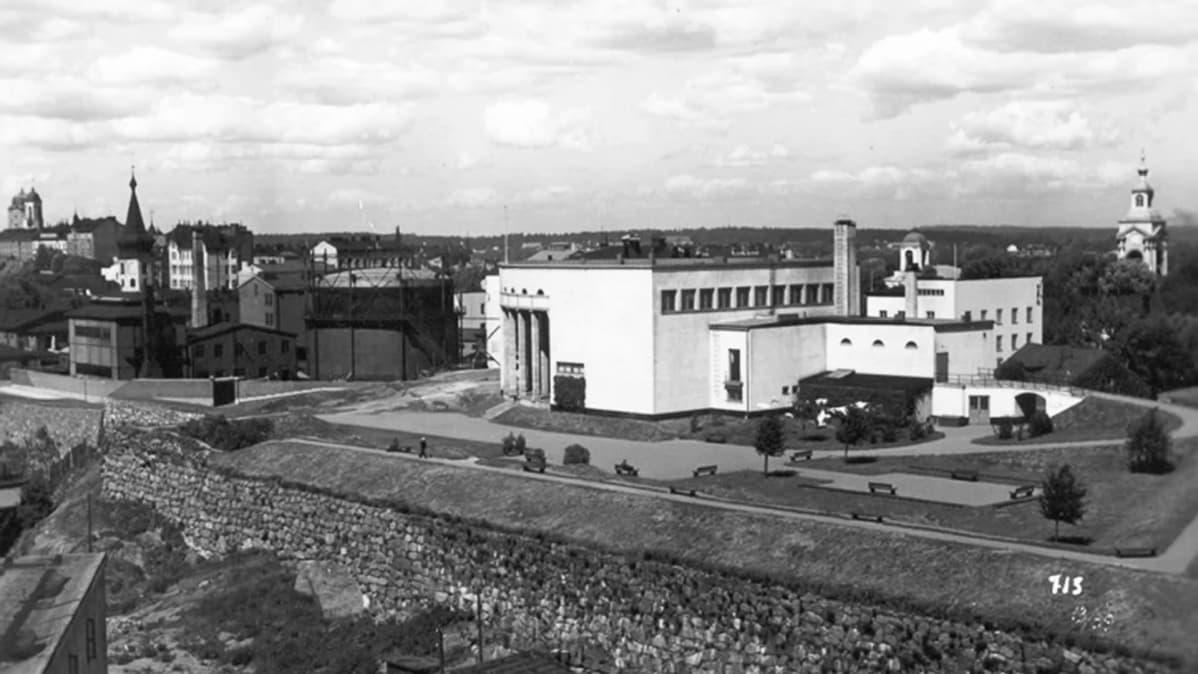 Viipurin taidemuseo 1930-luvulla.