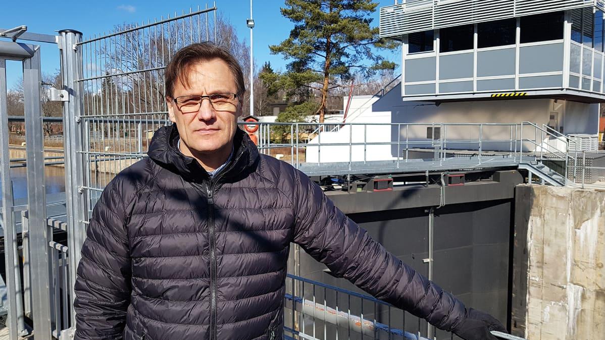 Kanavavaltuutetun toimiston päällikkö Seppo Kykkänen