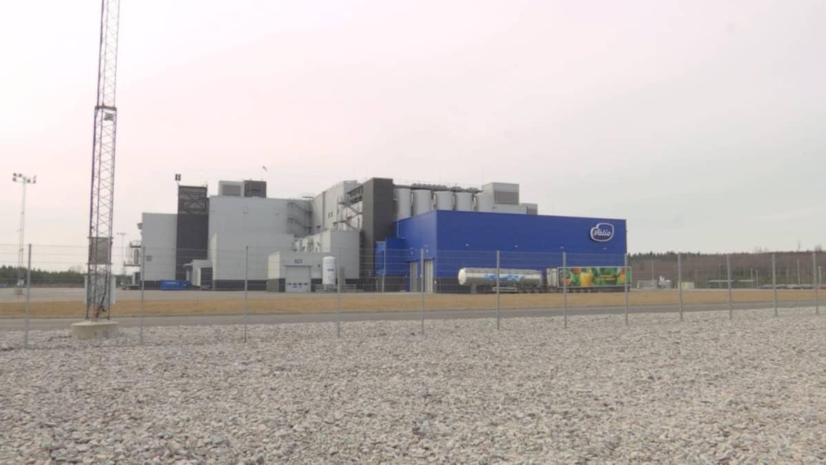 Valion tuotantolaitos Riihimäellä.
