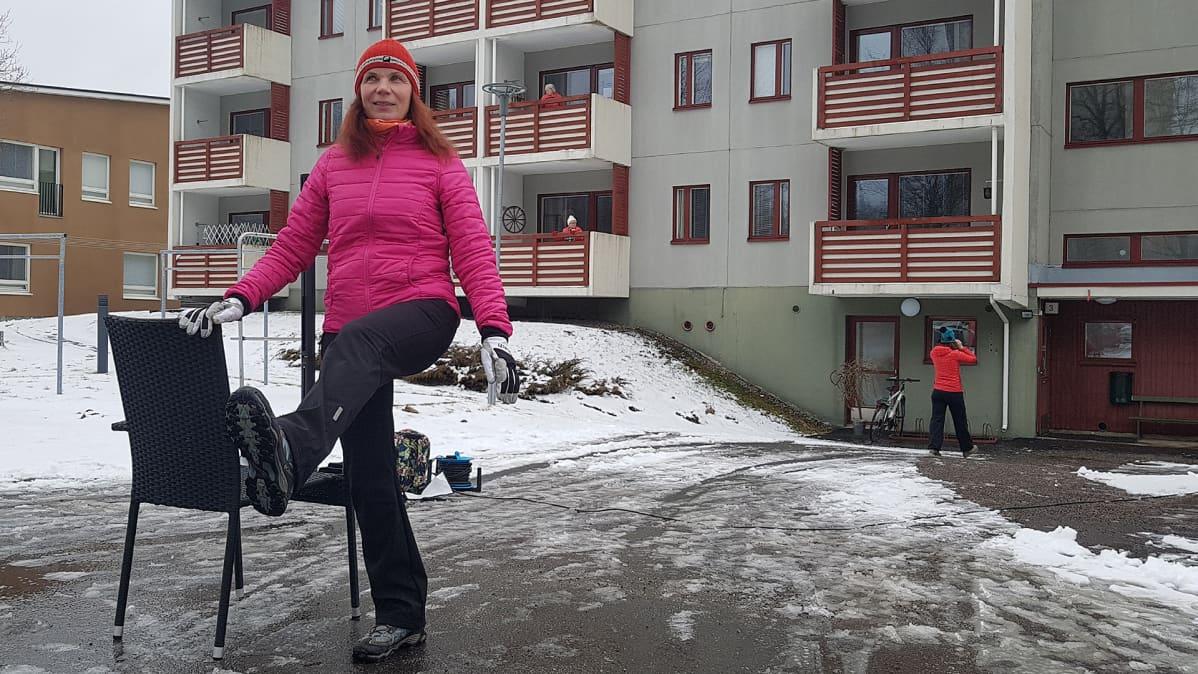 erityisliikunnanohjaaja Kirsi Mäyrä