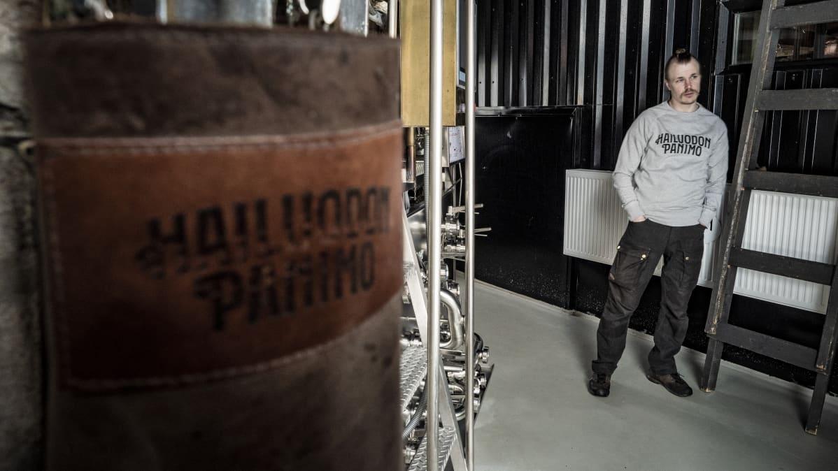 Hailuodon Panimon toimitusjohtaja Kimmo Kaukonen