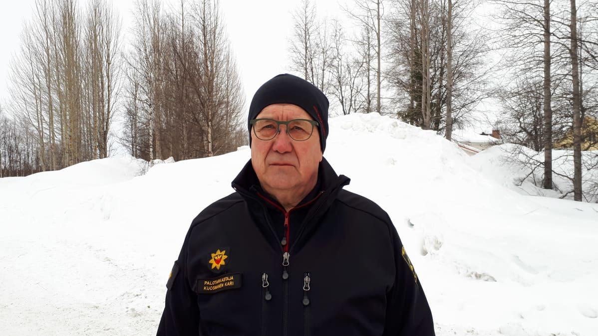 palotarkastaja Kari Kuosmanen