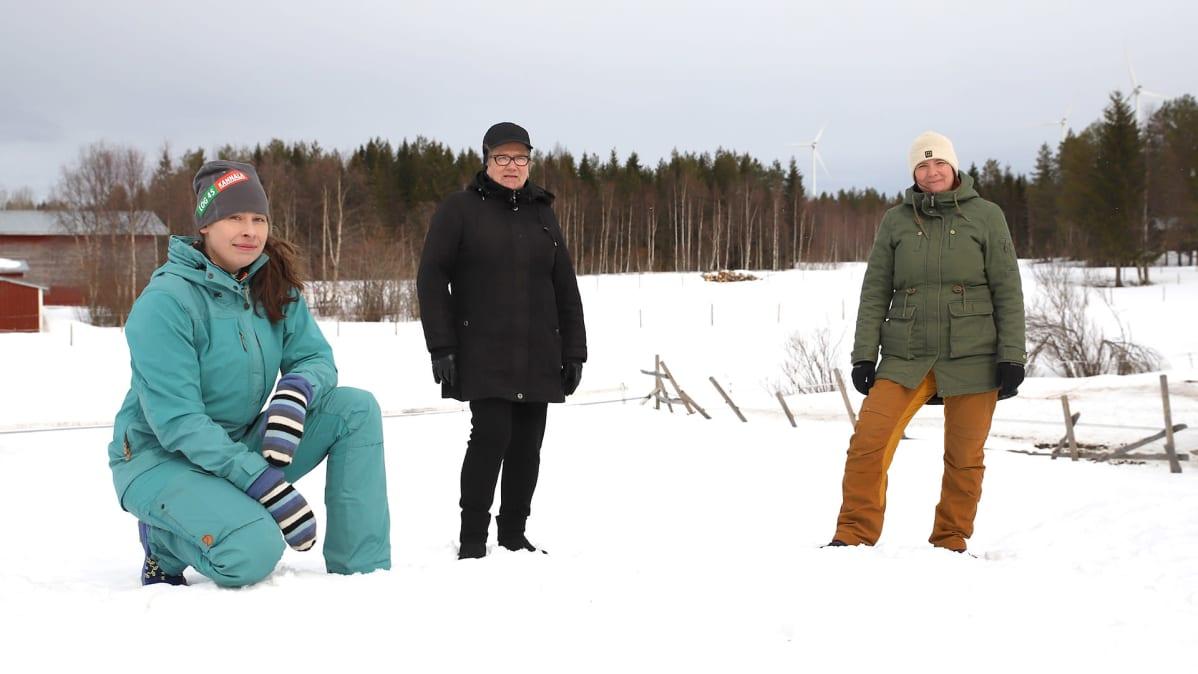 Liisa Koivisto, Irja Takavirta ja Mervi Similä