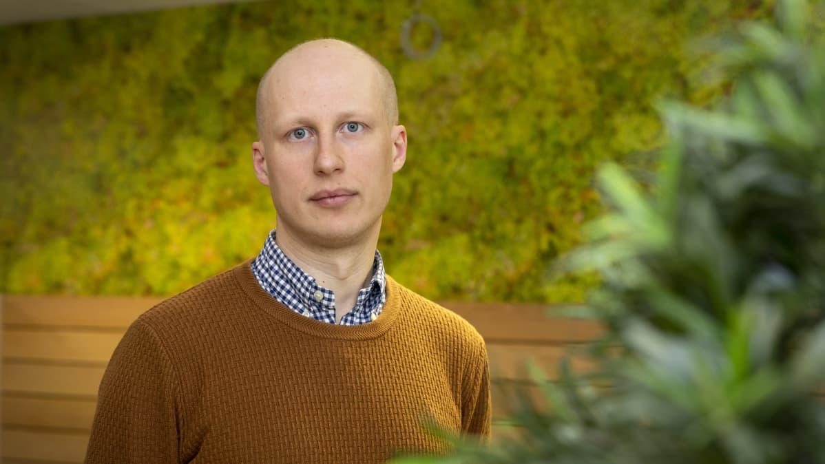 Akatemiatutkija Lauri Sääksvuori