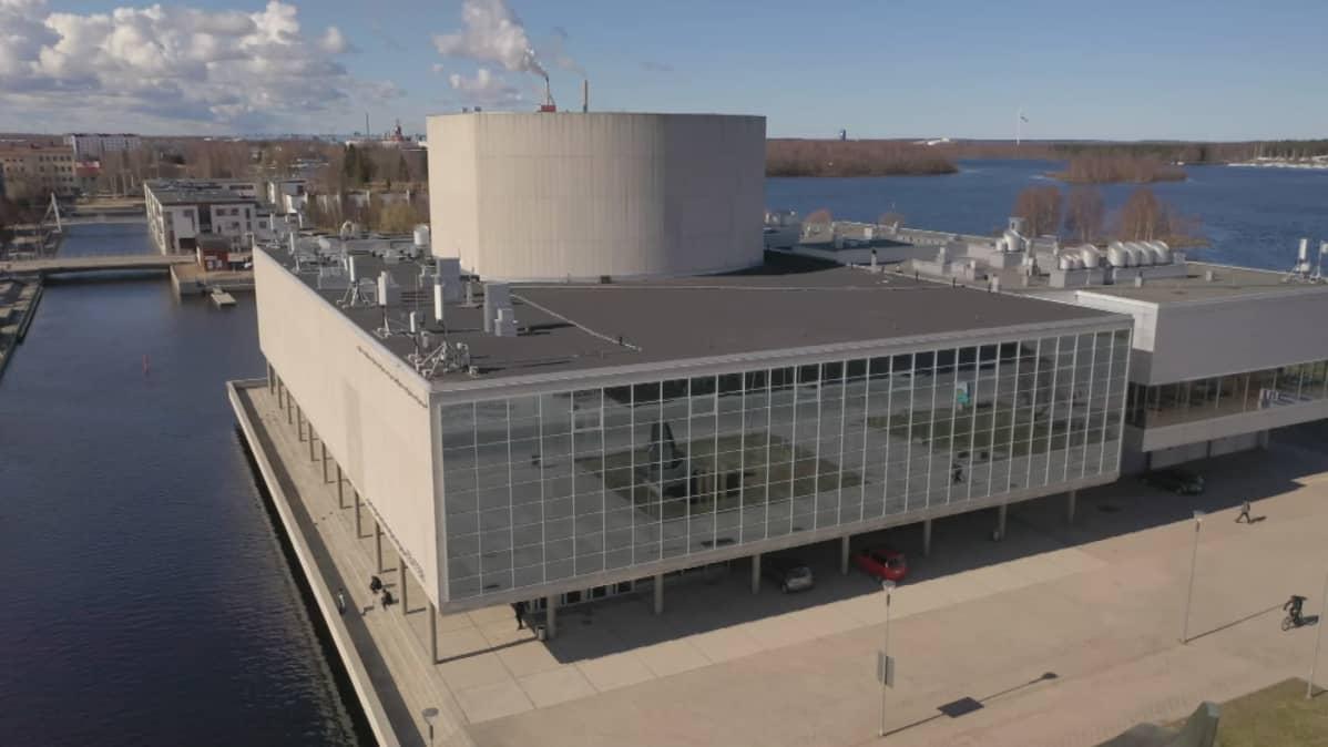 Oulun kaupunginteatteri ilmakuva