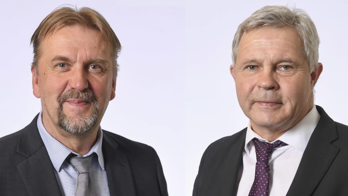 Seppo Eskelinen ja Matti Semi