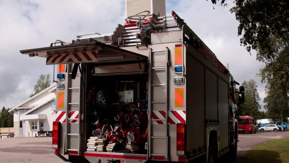 Paloauto Haapavedellä