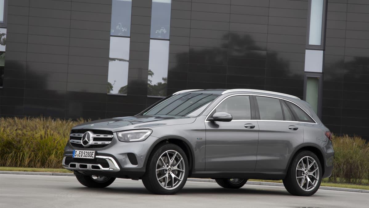 Uudenkaupungin autotehtaalle valmistukseen tuleva uusi Mercedes-Benz hybridi.