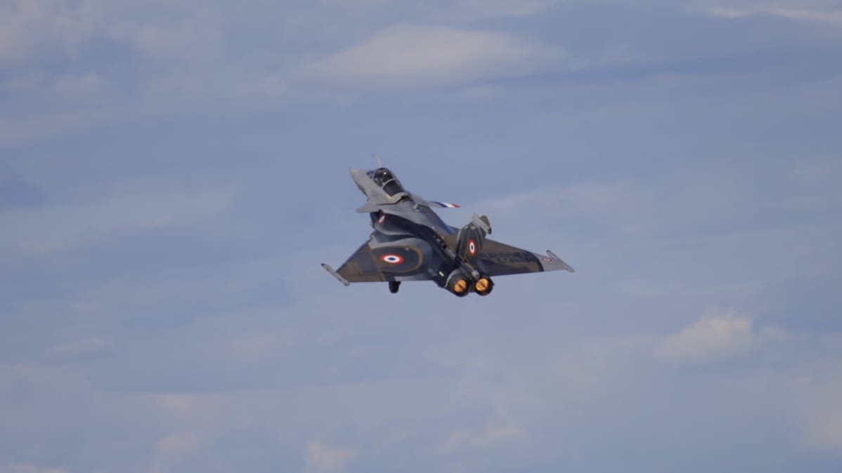 afaele on yksi Hornetien korvaajaehdokkaista. KAuhava AIrshow 29.8.2020
