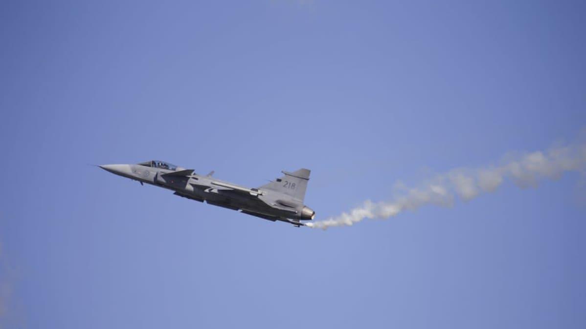 Jas Gripen C Kauhava Airwhow 29.8.2020