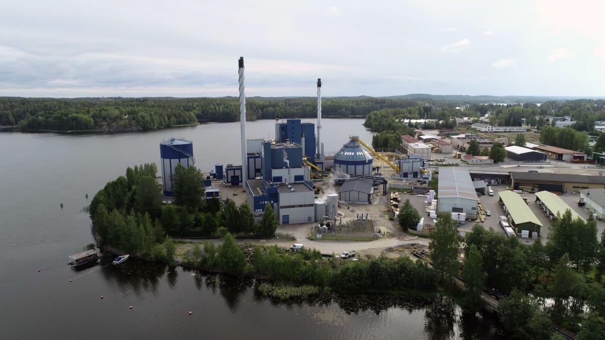 Etelä-Savon Energian Pursialan voimalaitos.