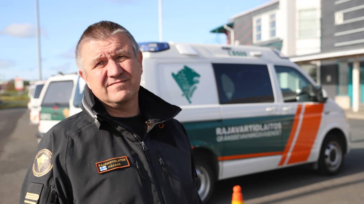 Rajavartiolaitoksen kapteeniluutnantti Tommy Håkans