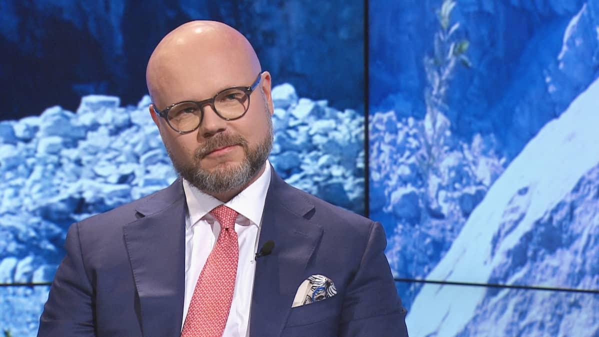 Suomen Malmijalostus Oyn toimitusjohtaja Matti Hietanen.