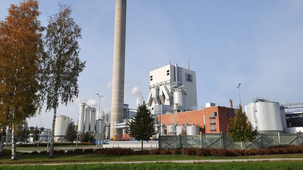 UPM Pietarsaaren tehdas