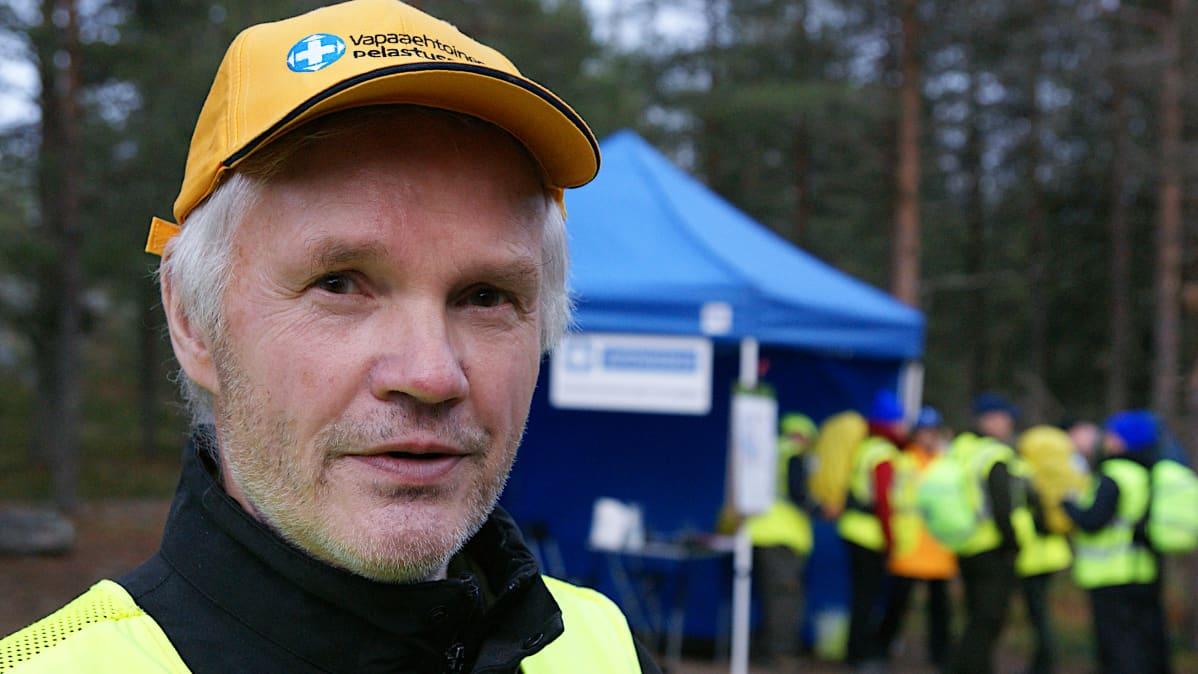 Vapepan Lapin toimikunnan puheenjohtaja Reijo Köngäs