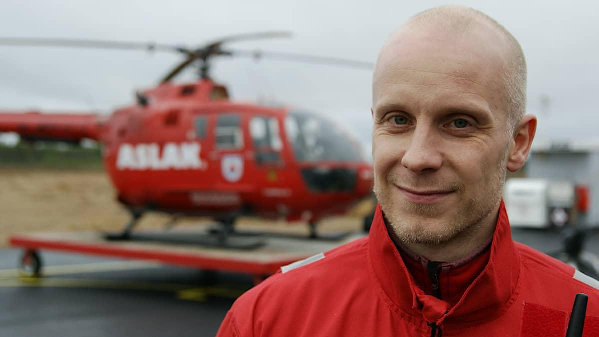 Pelastaja Matti Lindberg